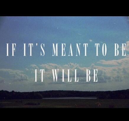 My mantra...